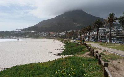 We zijn gearriveerd in het mooie Kaapstad. Veld ziet er mooi uit.