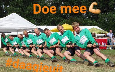 Goede voornemens???  Probeer touwtrekken eens. Full body workout in teamverband….