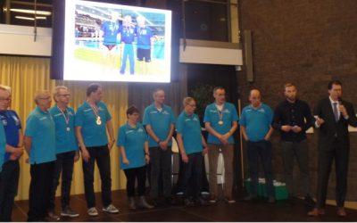 Kampioenenbal in gemeentehuis Berkelland