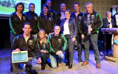 Vrijdagavond mochten we de Annie Borckink trofee ontvangen tijdens de sportverki…