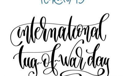 ~ International Tug Of War day ~  Morgen 19 februari staat de sport touwtrekken …